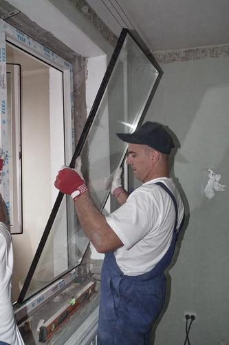 Пластиковые окна замена стеклопакета своими руками